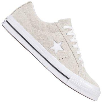 Converse Sneaker LowONE STAR - OX - WHITE/WHITE/WHITE weiß