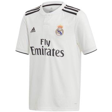 adidas FußballtrikotsReal Madrid Heimtrikot - CG0554 weiß