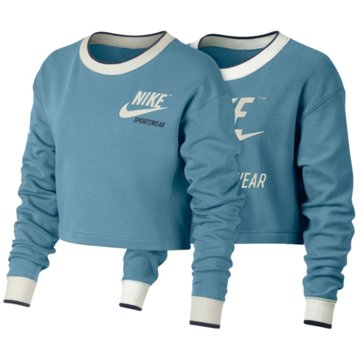 Nike Sweater blau