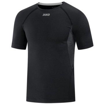 Jako Shirts & TopsT-SHIRT COMPRESSION 2.0 - 6151 8 schwarz