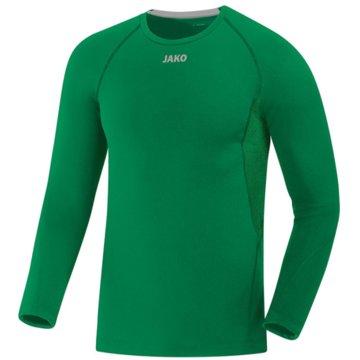 Jako Shirts & TopsLONGSLEEVE COMPRESSION 2.0 - 6451 6 grün