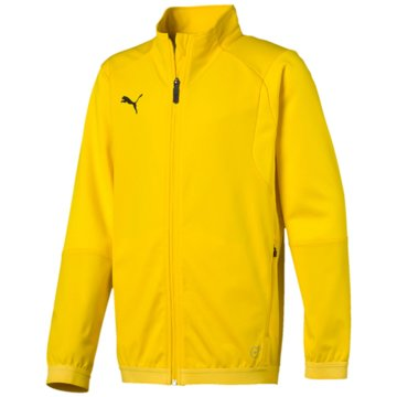 Puma Trainingsjacken gelb