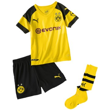 Puma Fan-Anzüge gelb