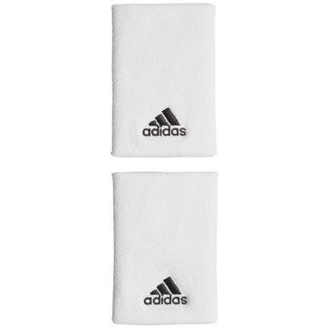 adidas SchweißbänderTENNIS SCHWEIßBAND, L - CF6277 weiß