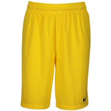 Nike FußballshortsNike gelb