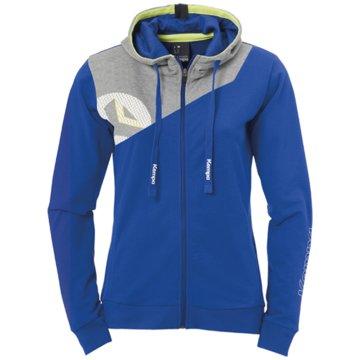 Uhlsport SweaterCORE 2.0 KAPUZENJACKE WOMEN - 2002197 4 blau
