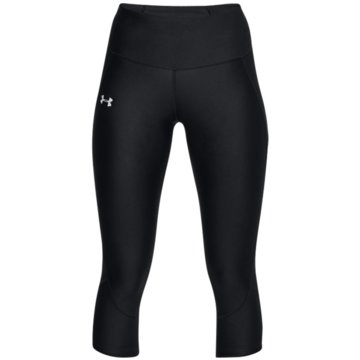 Under Armour 3/4 Sporthosen schwarz
