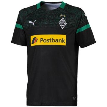 Puma Fan-TrikotsBorussia Mönchengladbach Auswärtstrikot 2018/19 schwarz