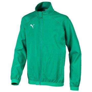 Puma Trainingsjacken grün