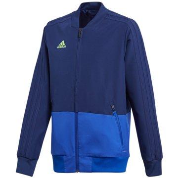 adidas TrainingsjackenCON18 PRE JKT Y - CF3707 blau