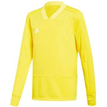 adidas SweatshirtsCON18 TR TOP Y - CG0392 gelb