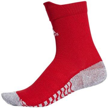 adidas Hohe SockenAlphaskin Traxion Ultralight Crew Socks rot