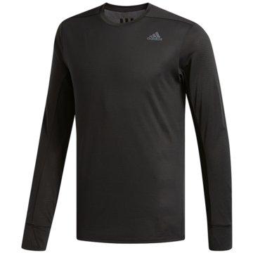 adidas Langarmshirts schwarz