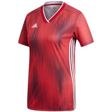adidas FußballtrikotsTIRO 19 JSY W - DP3184 rot