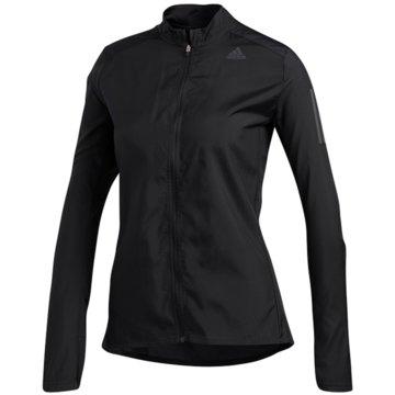 adidas LaufjackenOwn The Run Jacket Women schwarz