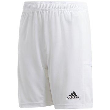 adidas FußballshortsTEAM 19 SHORTS - DW6881 weiß