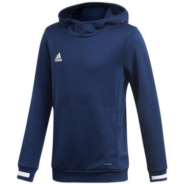 adidas HoodiesTEAM 19 HOODIE - DY8821 blau