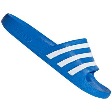 adidas BadelatscheAdilette Aqua blau
