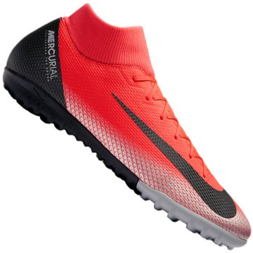Nike Multinocken-SohleMercurial Superfly X VI Academy CR7 TF rot
