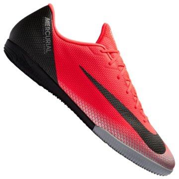 Nike HallenschuheMercurialX Vapor XII Academy CR7 IC rot