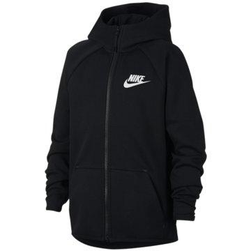 Nike SweatjackenNIKE SPORTSWEAR TECH FLEECE BOYS' F - AR4020 schwarz