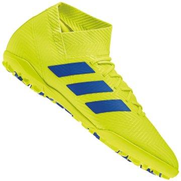 adidas Multinocken-SohleNemeziz Tango 18.3 TF Fußballschuh - BB9465 gelb