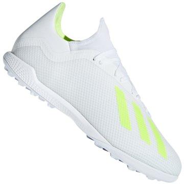 adidas Multinocken-SohleX Tango 18.3 TF Fußballschuh - BB9400 weiß