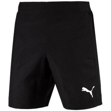 Puma Fußballshorts schwarz