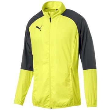 Puma Trainingsjacken gelb
