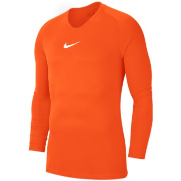Nike FußballtrikotsNIKE DRI-FIT PARK FIRST LAYER KIDS' - AV2611 orange