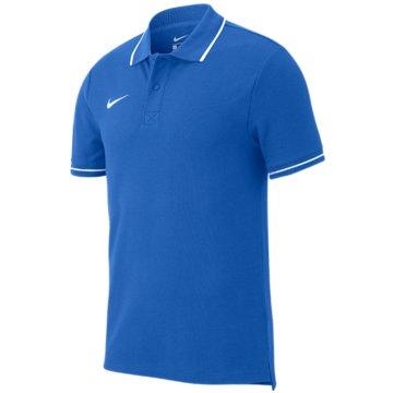 Nike PoloshirtsCLUB19 - AJ1546-463 blau