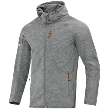 Jako TrainingsjackenSOFTSHELLJACKE LIGHT - 7605D 40 grau