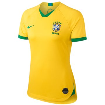 Nike Fan-TrikotsBrasil 2019 Stadium Home Jersey Women -