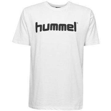 Hummel T-ShirtsHMLGO KIDS COTTON LOGO T-SHIRT S/S - 203514 weiß