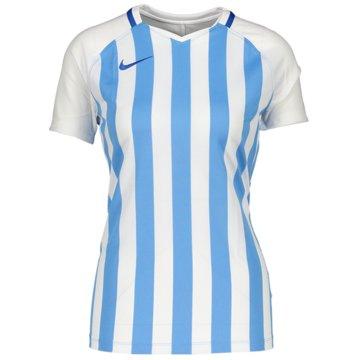 Nike FußballtrikotsW NK DRY STRP DVSN III JSY SS - CN6888 blau