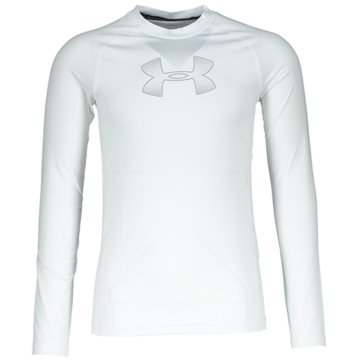 Under Armour Langarmhemden weiß