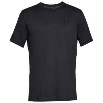 Under Armour Funktionsshirts SPORTSTYLE LEFT CHEST KURZARM-OBERTEIL - 1326799 schwarz