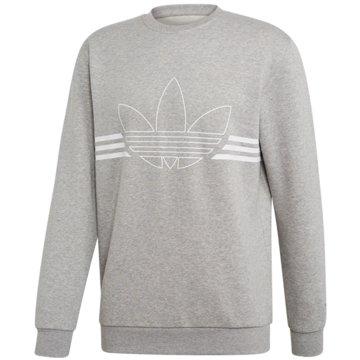 adidas SweaterOUTLINE CRW FLC - ED4686 grau
