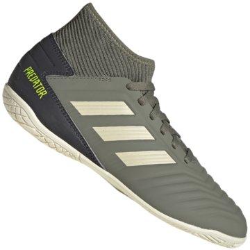 adidas Hallen-SohlePREDATOR 19.3 IN J - EF8219 grün