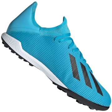 adidas Multinocken-SohleX 19.3 TF - F35375 blau