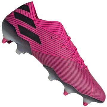 adidas Stollen-SohleNemeziz 19.1 SG pink