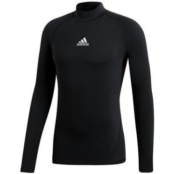 adidas FunktionsshirtsAlphaskin Sport Climawarm Longsleeve schwarz
