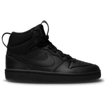 Nike Sneaker LowNike Court Borough Mid 2 Little Kids' Boot - BQ5442-001 schwarz