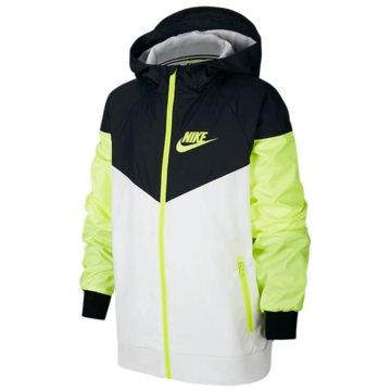 Nike SweatjackenBoys' Nike Sportswear Windrunner Jacket - 850443-106 weiß
