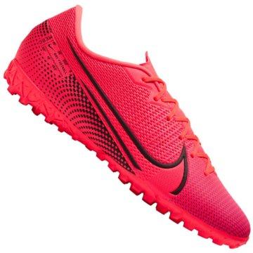 Nike Multinocken-SohleNike Mercurial Vapor 13 Academy TF - AT7996-606 rot