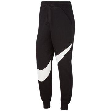 Nike JogginghosenW NSW SWSH PANT FLC BB - BV3937 schwarz