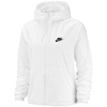 Nike ÜbergangsjackenSPORTSWEAR WINDRUNNER WOMEN'S weiß