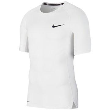 Nike T-ShirtsPRO - BV5631-100 weiß