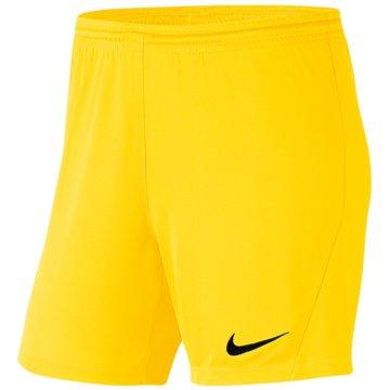 Nike FußballshortsDRI-FIT PARK 3 - BV6860-719 gelb