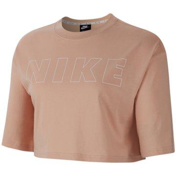 Nike T-ShirtsNIKE AIR WOMEN'S CROPPED T-SHIRT braun